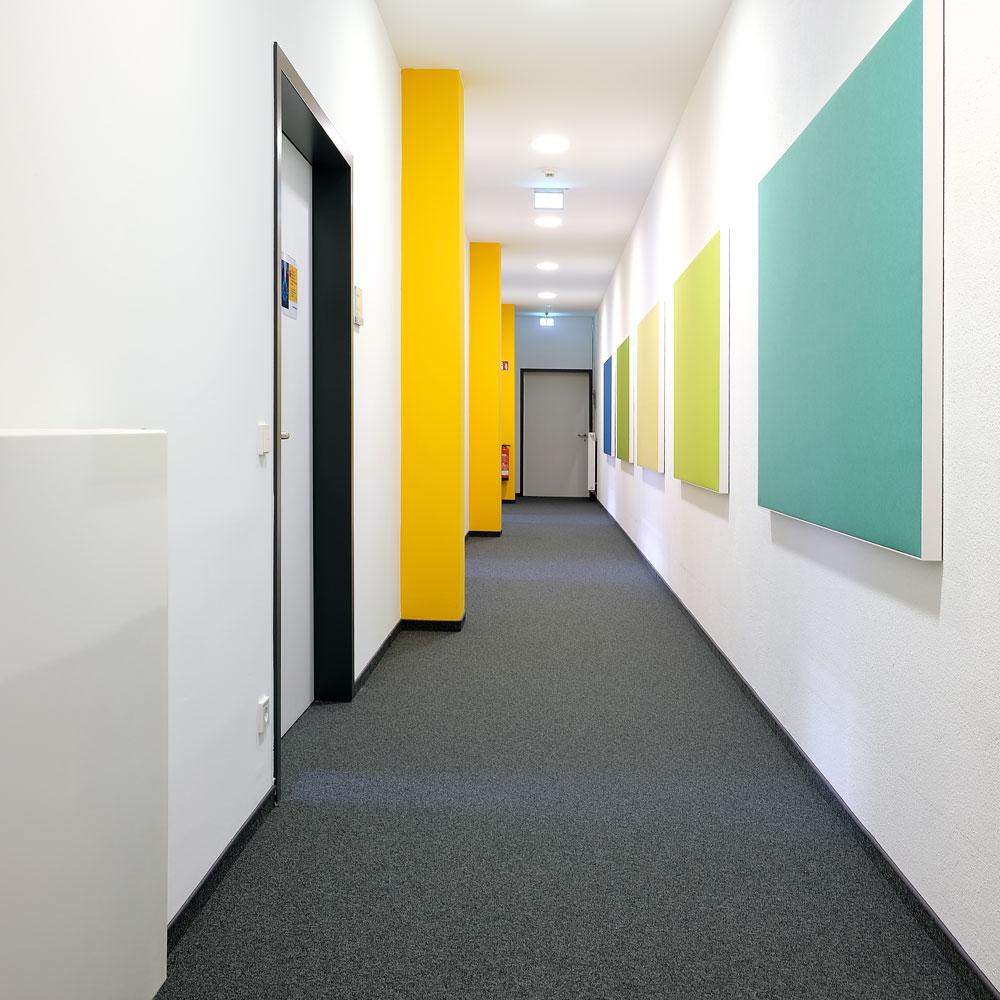 Kolb-Referenz: Allianz Handwerker Services, DURA Nero SL Teppichfliese